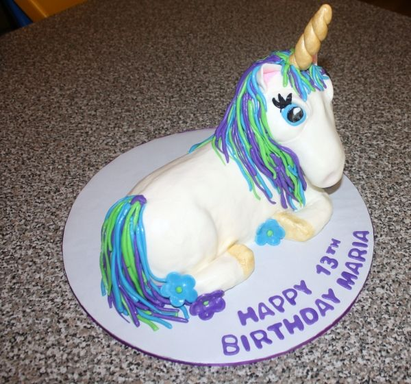 Unicorn Cake Made By Smf Tls Who Used The Wilton 3D Lamb Pan And Carved Slightly From There Its A Chocolate With An Italian Meringue Buttercream