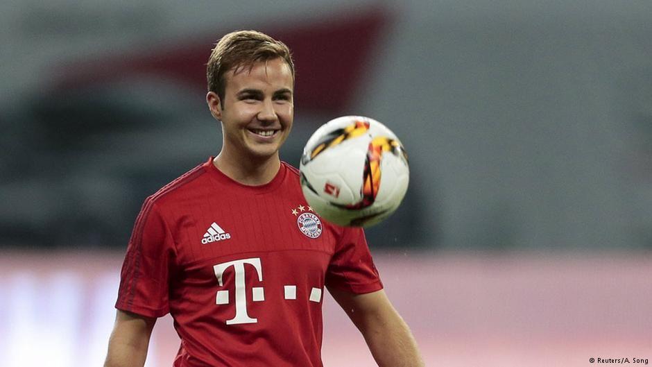 Deutsche Welle Why Mario Götze Probably Won T Be Leaving Bayern Munich This Summer R Soccer Mario Götze Atlético Madrid Bayern Munich