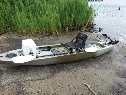 Bassyaks ascend 128t fishing kayak ideas pinterest for Used fishing kayak