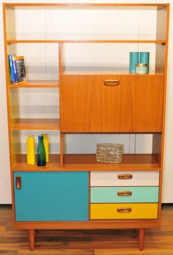 Best Retro Vintage Room Divider Coloured Drawers And Door 640 x 480