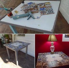 Relooker Une Table Basse Avec Du Carrelage Relooker Une Table Basse Customiser Table Basse Customiser Table