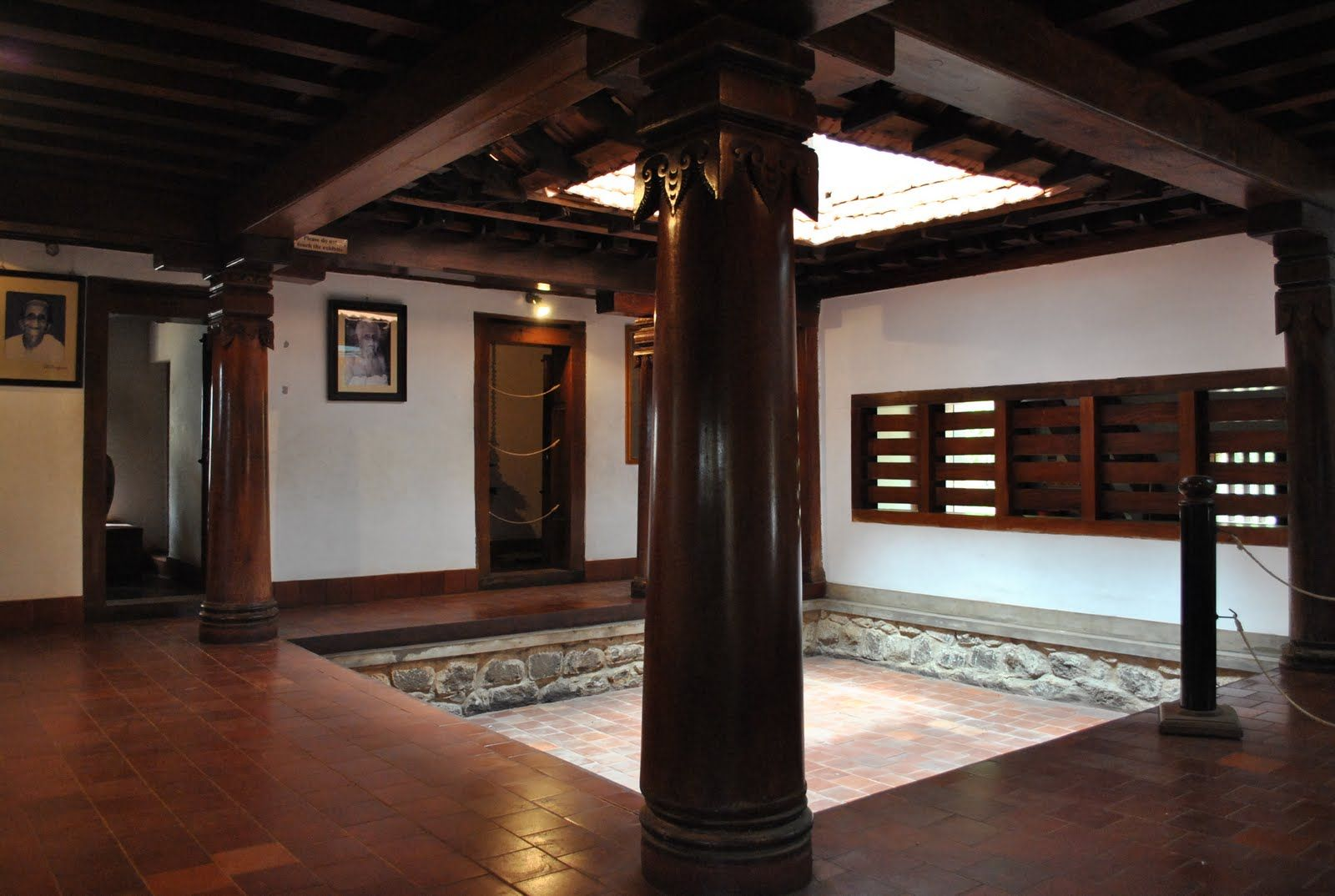 Country Courtyard House In An Ancestral Indian Village Village