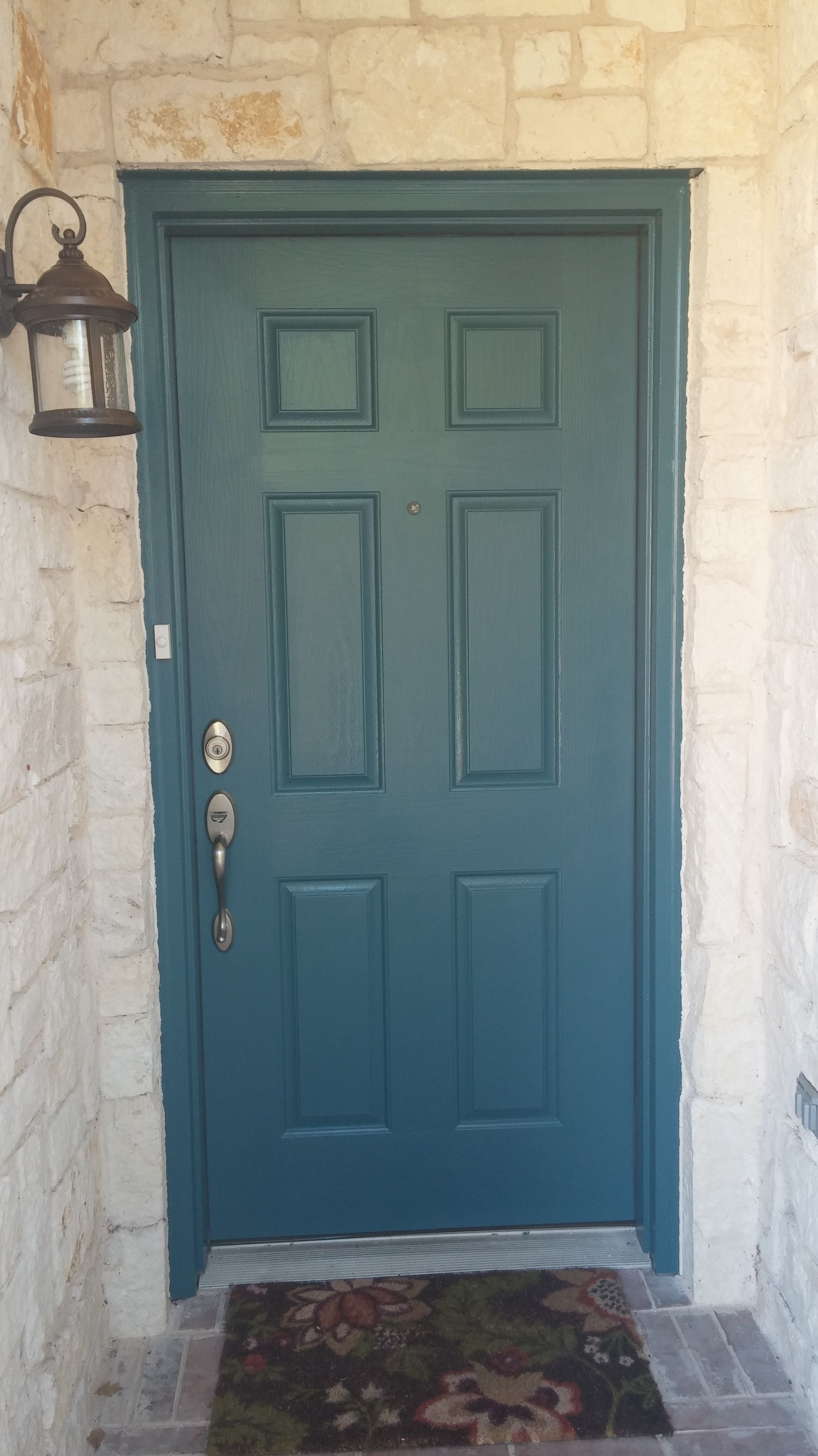 Behr Cathedral for our front door makeover. Loving it! | Home Sweet ...