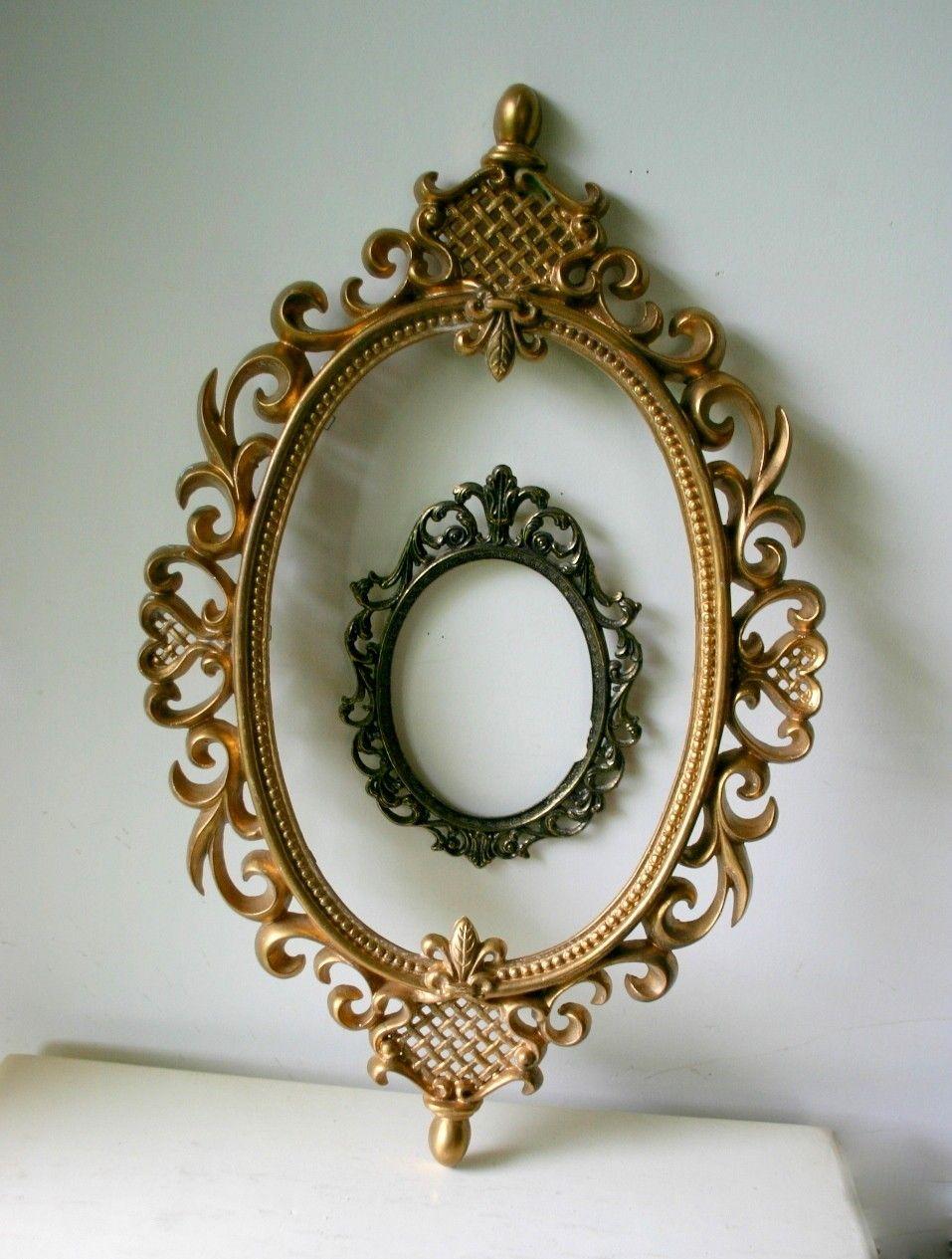 antique oval frame ornate.  Antique Vintage Ornate Oval Frame Tattoo Inspiration For Antique Frame R