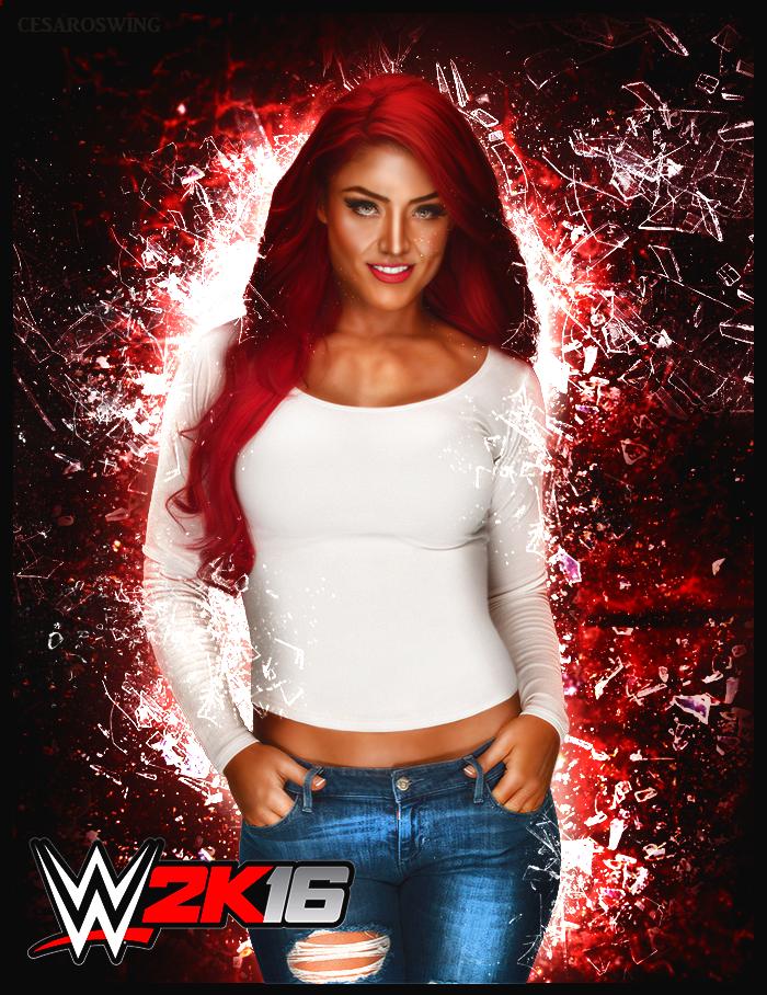 Wwe Superstar Eva Marie 2k16 Custom Render Wwe Superstars Wrestling Wwe Wwe