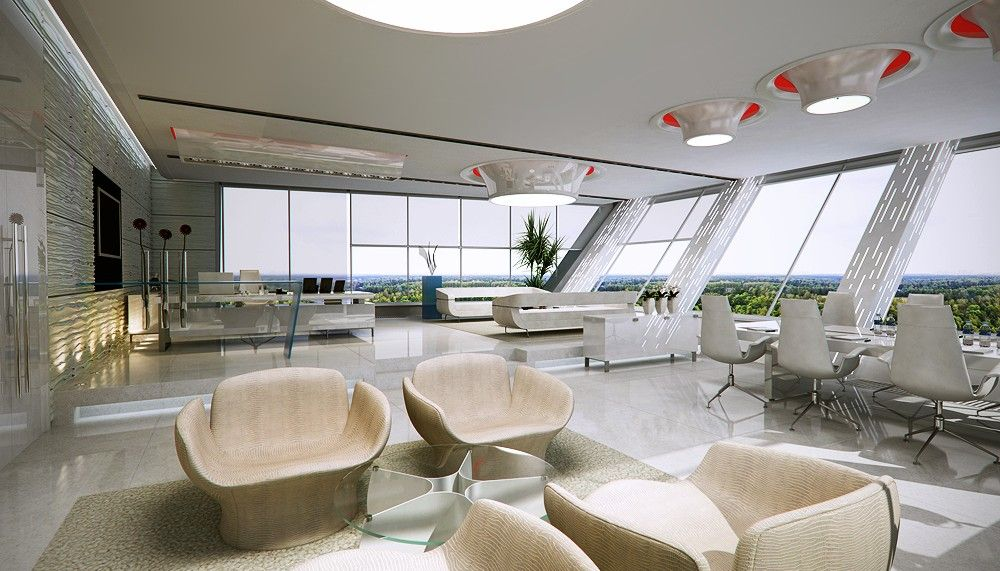 amazing office designs. Grand Office Space Amazing Designs N