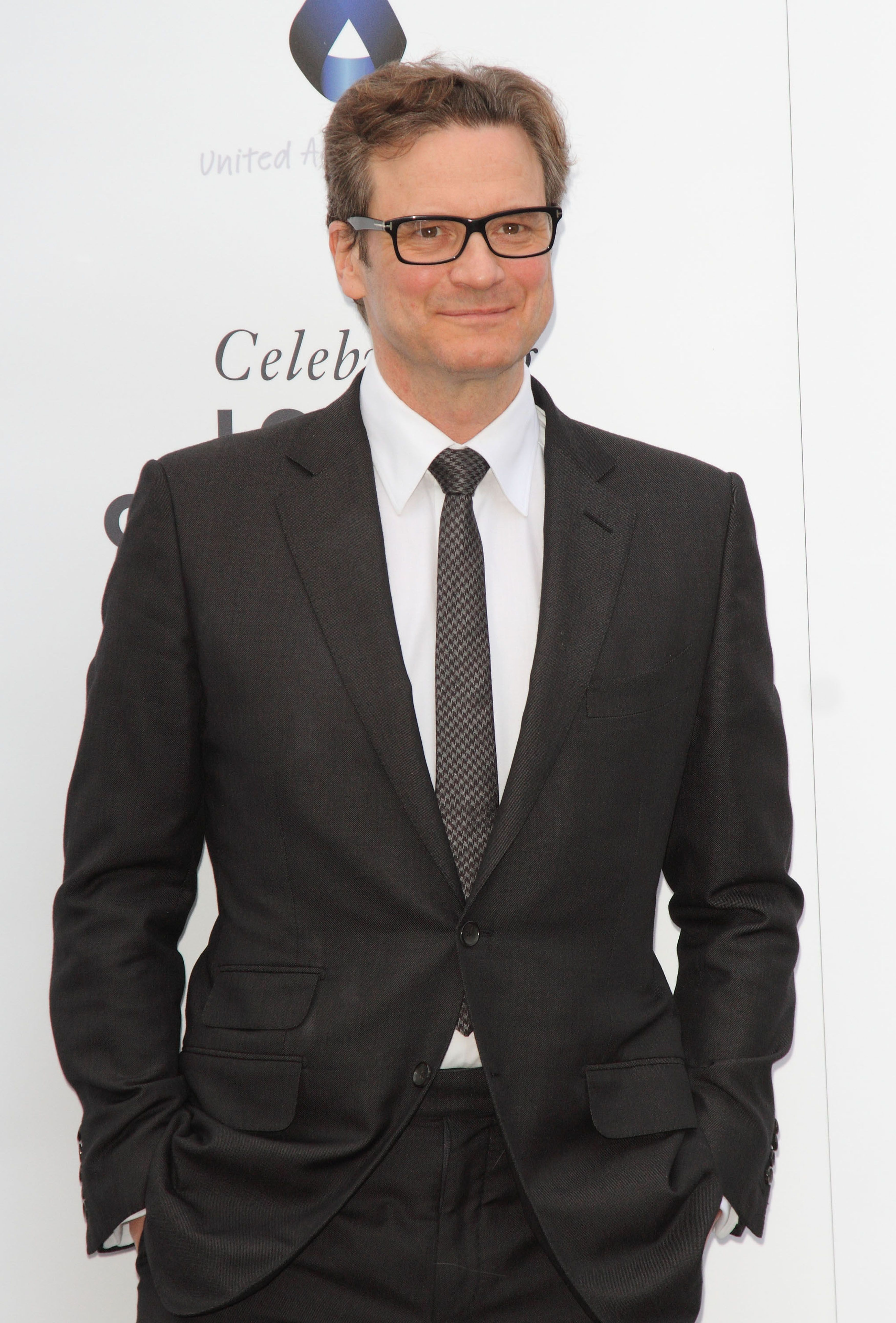 colin firth 2014   Colin Firth - One For The Boys Charity Ball: Arrivals