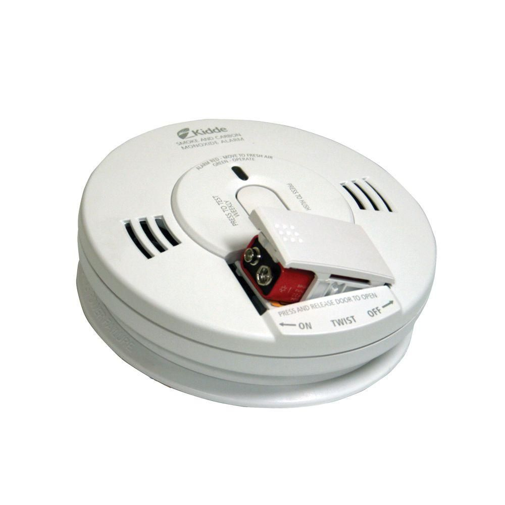 Kidde Battery Operated Photo Electric Combination Smoke And Carbon Monoxide Alarm With Voice Electric Smoke Photoelectric Sensor Motion Sensor Lights Outdoor
