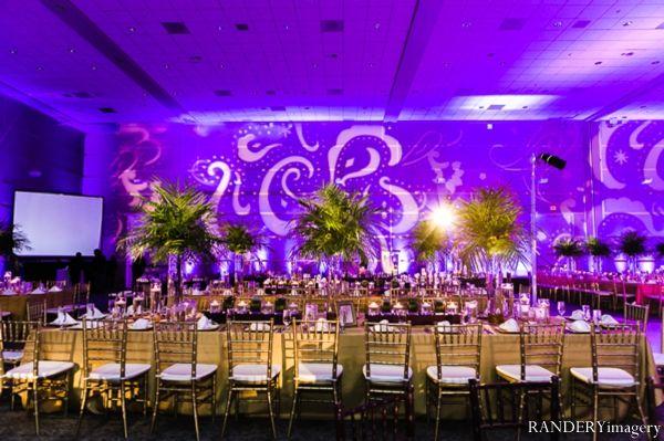 indian wedding reception decor inspiration lighting http ...