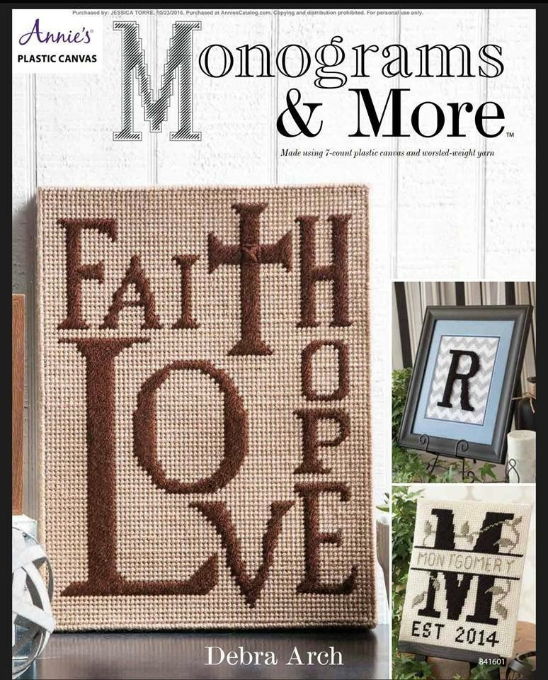Pin by Maria Mendoza on Plastic Canvas Letters / Signals Pinterest