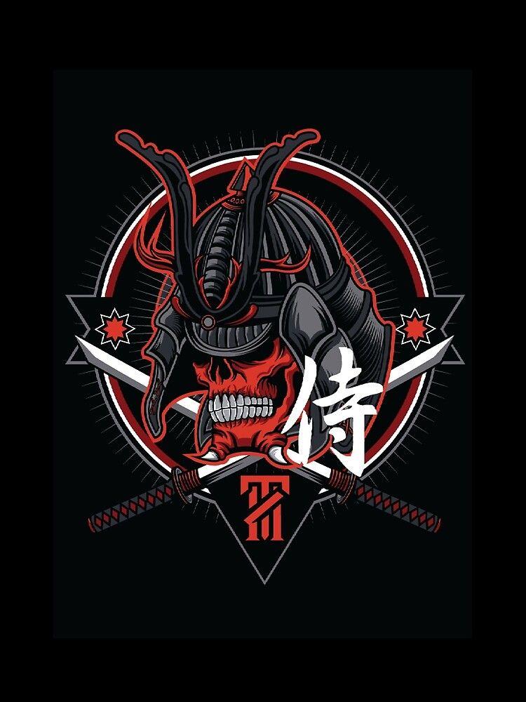 Live Hard And Be A Star T Shirt By Alvind1990 Redbubble Samurai Art Samurai Artwork Logo Design Art