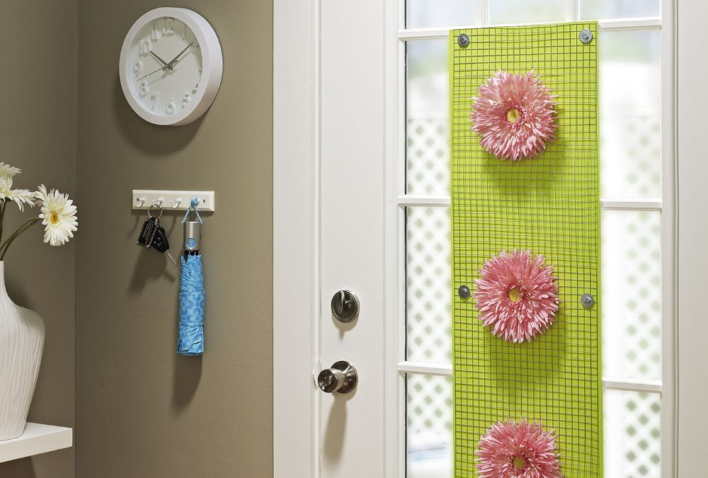 Bright u0026 Cheery Door Decor   My Home My Style & Bright u0026 Cheery Door Decor   My Home My Style   curtains u0026 blankets ...