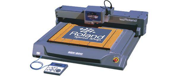 CNC Engraving Machine | EGX Pro | Roland DGA | Woodworking