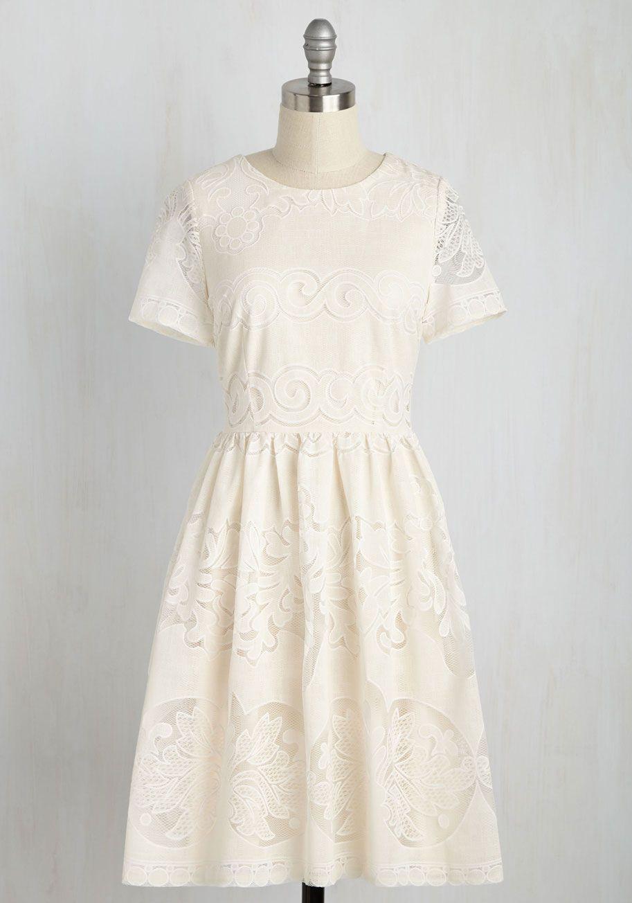 Get the joyful treatment dress best dressed pinterest ivory