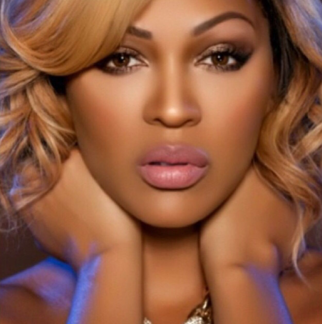 Meagan meagan good her pinterest make up face meagan good added a new photo baditri Images