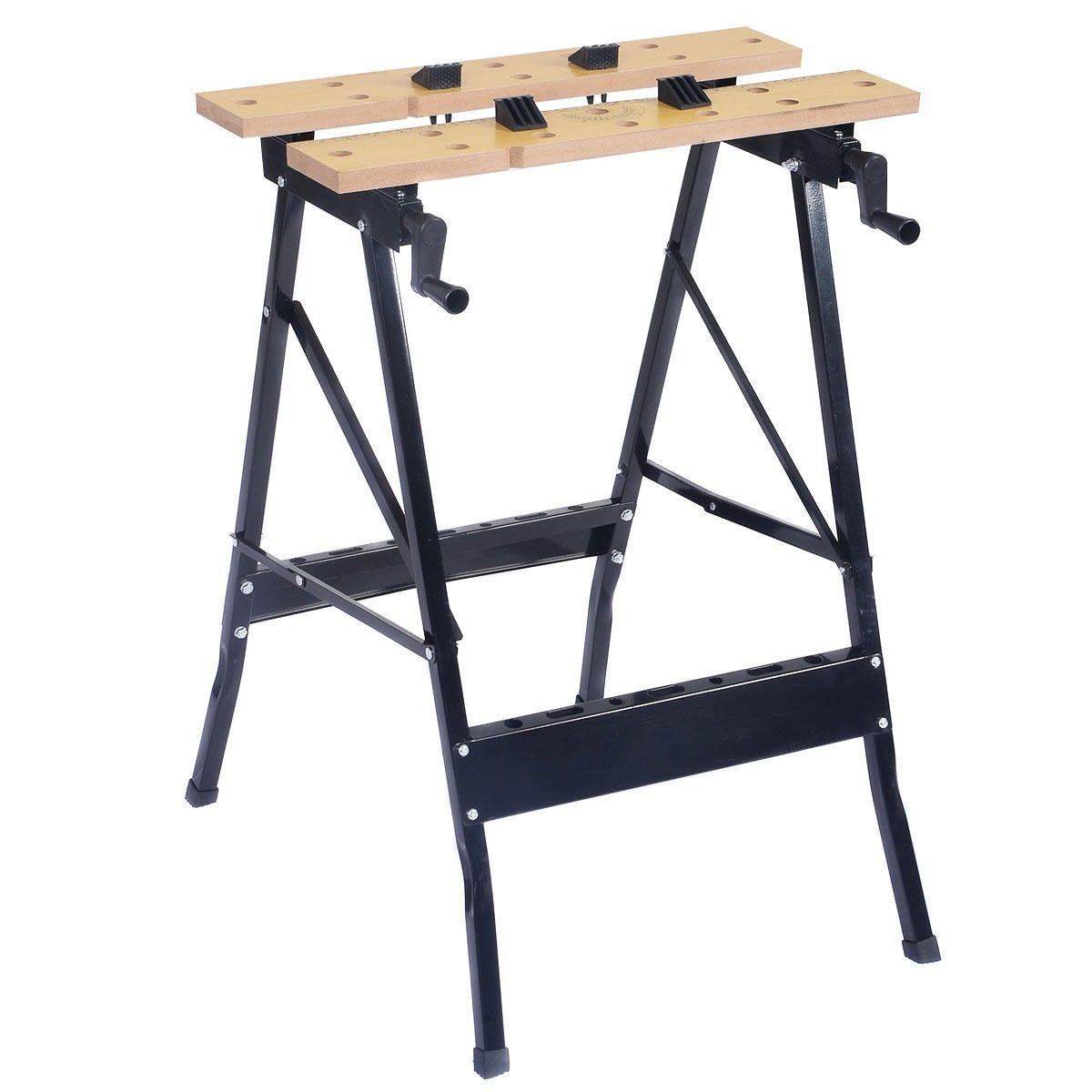 folding work bench table tool garage repair workshop benches