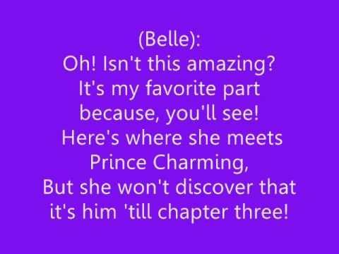 Beauty And The Beast Belle Lyrics Beauty And The Beast Cool Lyrics Beast Song