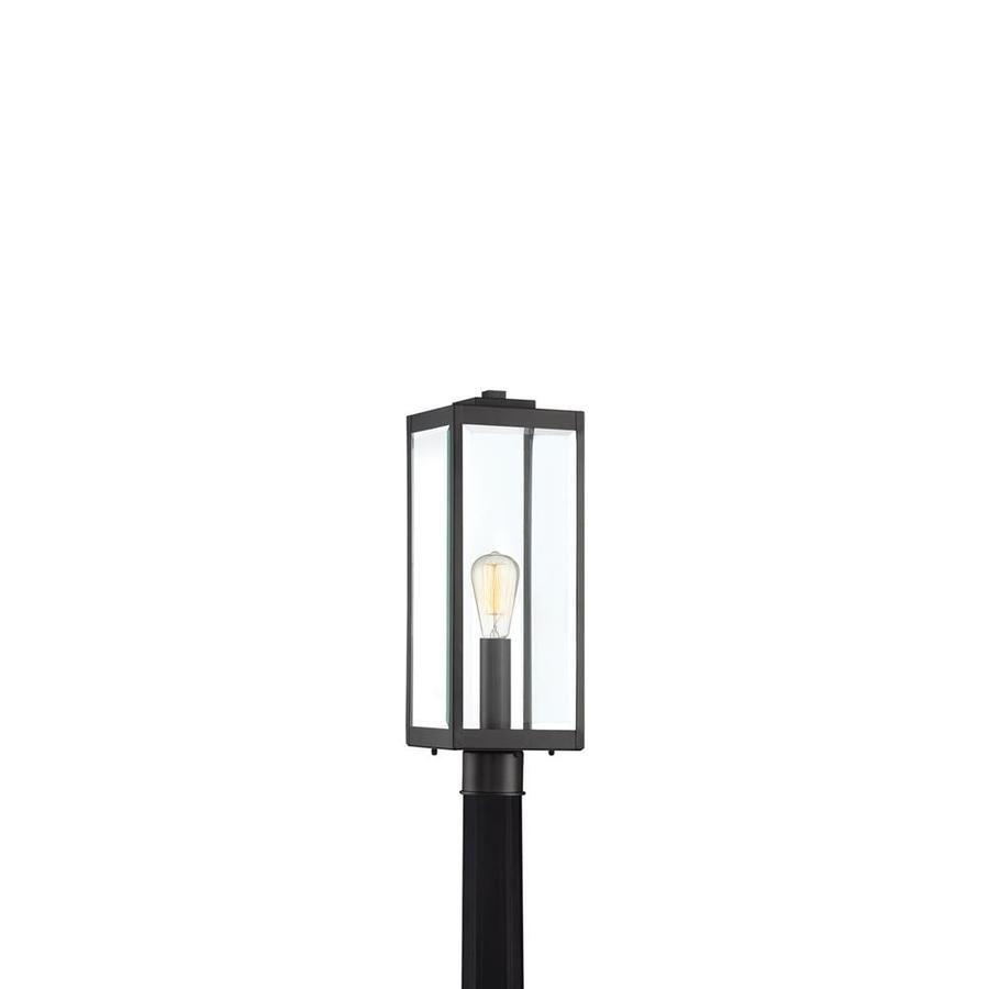 Quoizel Westover 150 Watt 20 5 In Earth Black Transitional Light Post Lantern Wvr9007ek In 2020 Lantern Post Outdoor Post Lights Modern Exterior Lighting