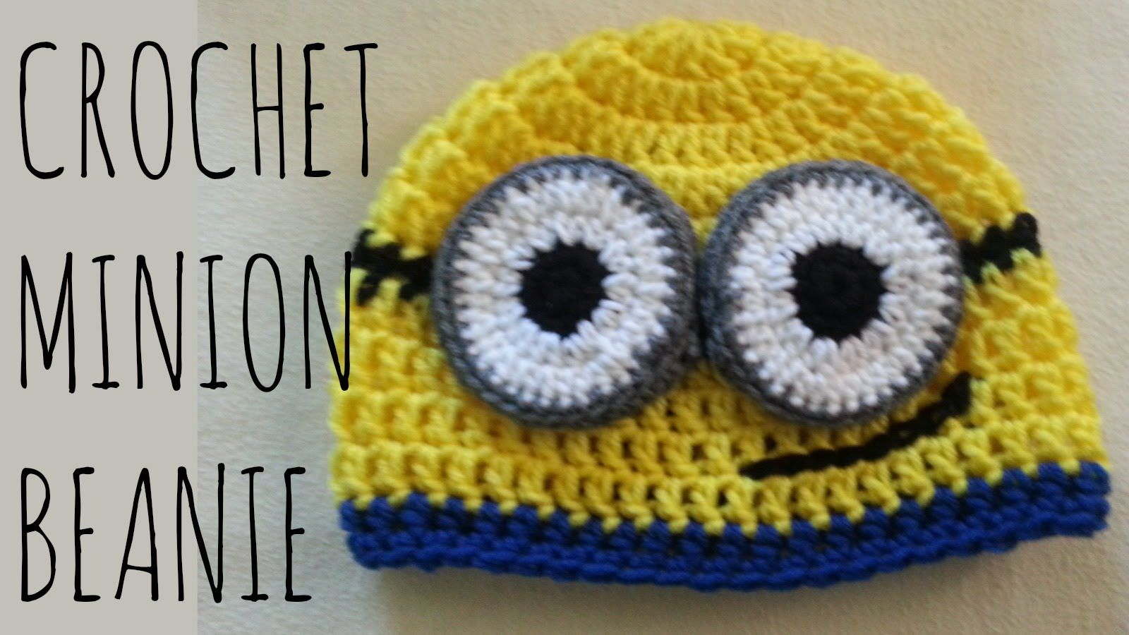 How to crochet a minion beanie! You can make your minion with one ...