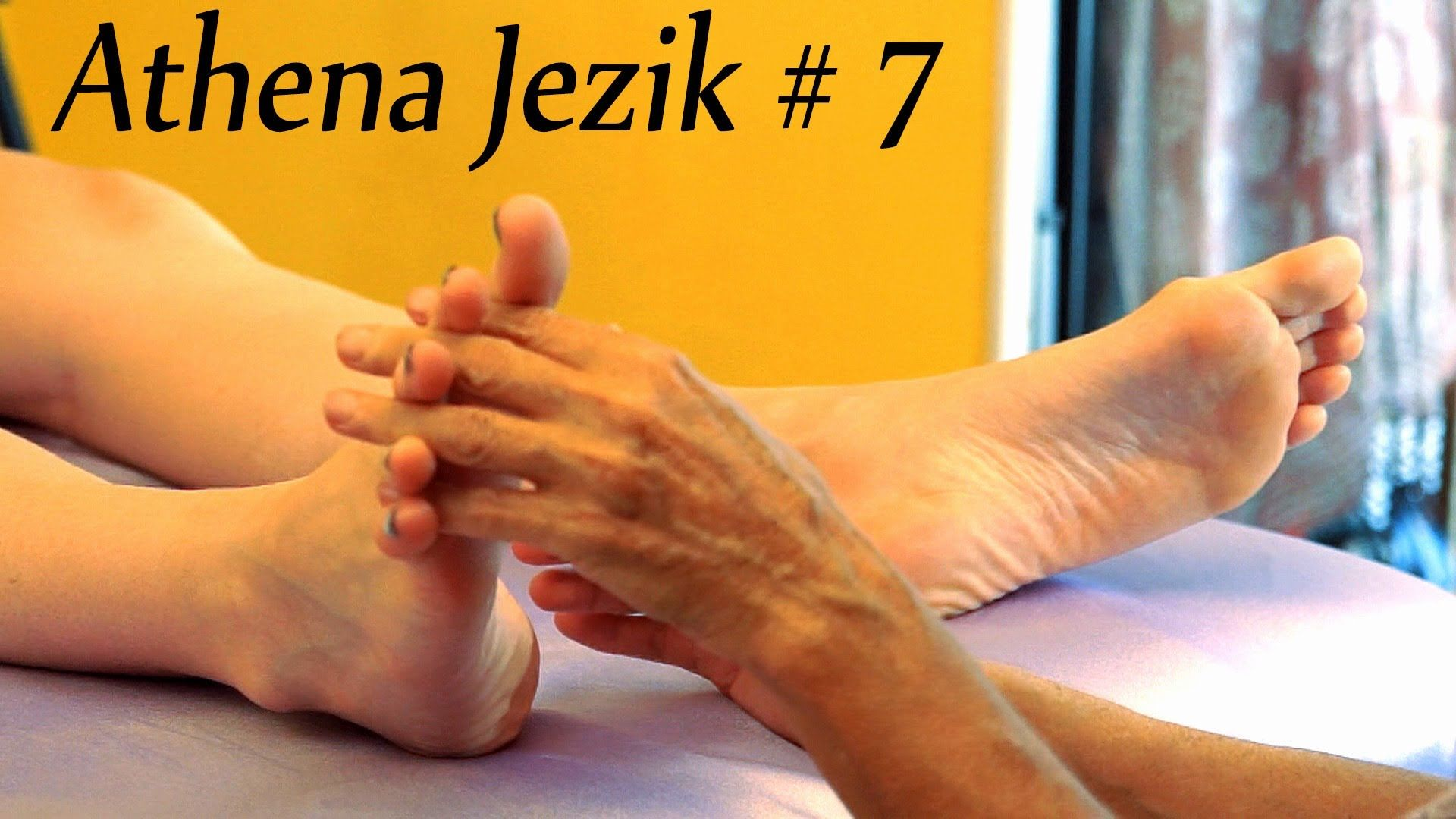 Relaxing Asmr Foot Massage Athena Jezik 7 How To
