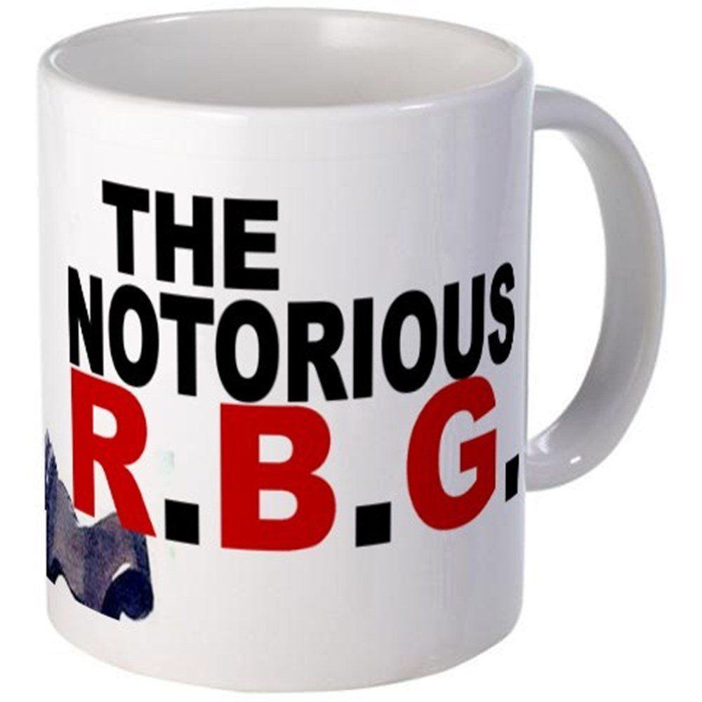 CafePress - Notorious RBG Mugs - Unique Coffee Mug, 11oz Coffee Cup * Remarkable product available now. : Coffee Mugs
