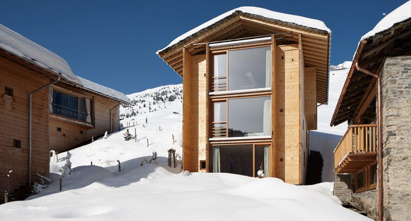 AlpenLuxus Ferienhaus von Peter Zumthor in Vals Peter