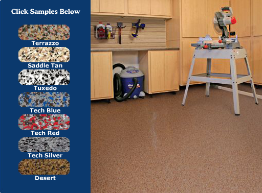 Slide Lok Garage Floors Provide Excellent Adhesion To Concrete And Do Not Require A Separate