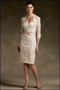 Wedding outfits for mature brides