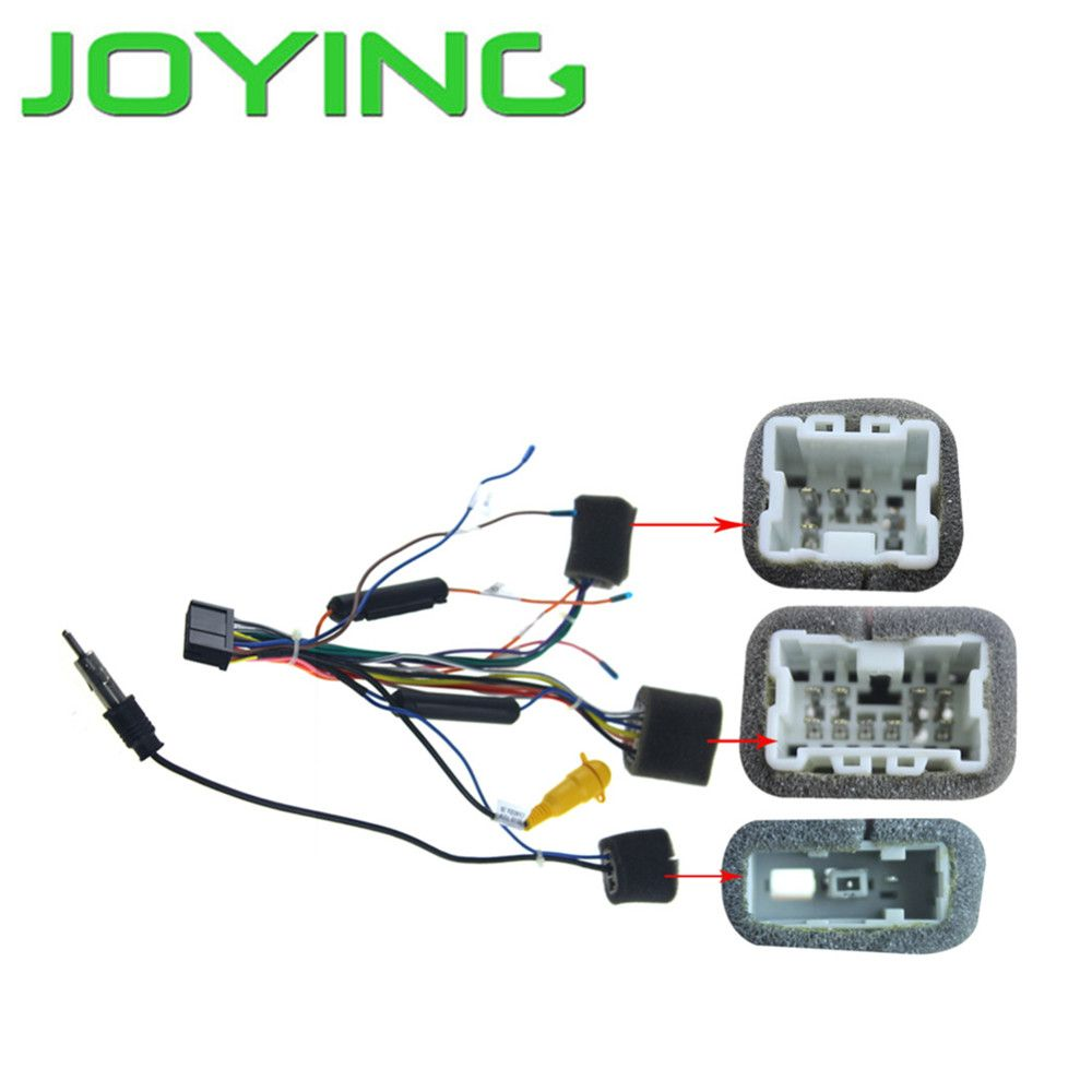 Joying Car Auto Harness Wiring Cable For Nissan In Dash Android Pathfinder Dvd Stereo Radio Head Unit