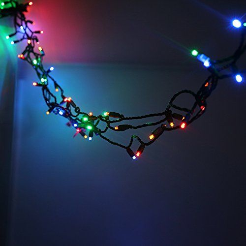 colored 70 leds mini string lights4 spacing23 ft green wireul commercial grade christmas lights for home patio lawn garden porch party holiday and
