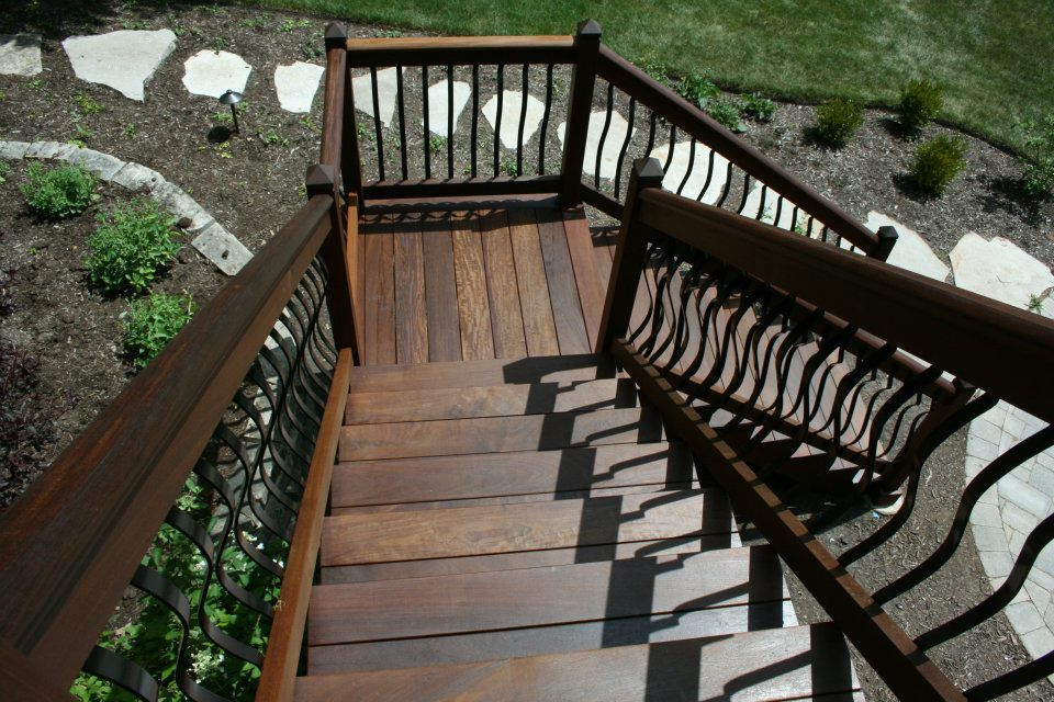 Best The Beauty Of Ipe Wood Shown Here On These Deck Stairs We 400 x 300