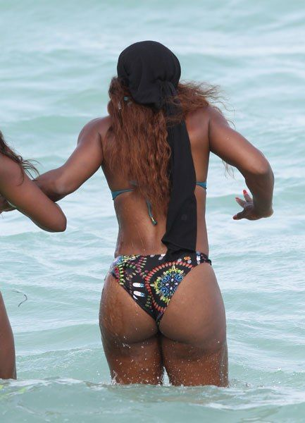 big ass women in maiami beach photo
