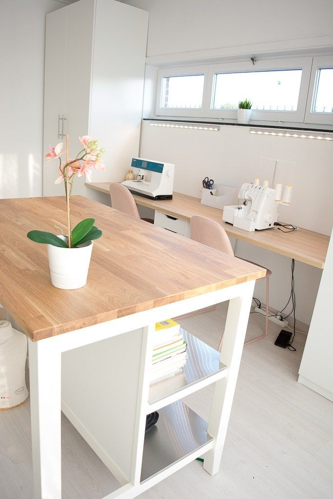 Een nieuwe naaikamer – KaatjeNaaisels #ateliercoutureamenagement