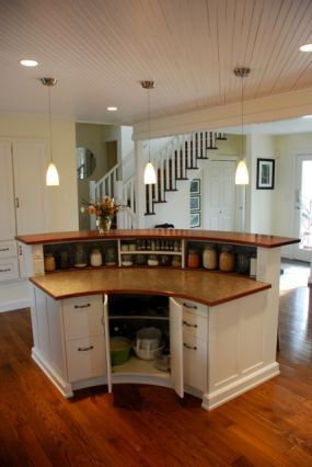 this island is part of our full house renovation designed and completely build by the owners on kitchen island ideas v shape id=64966