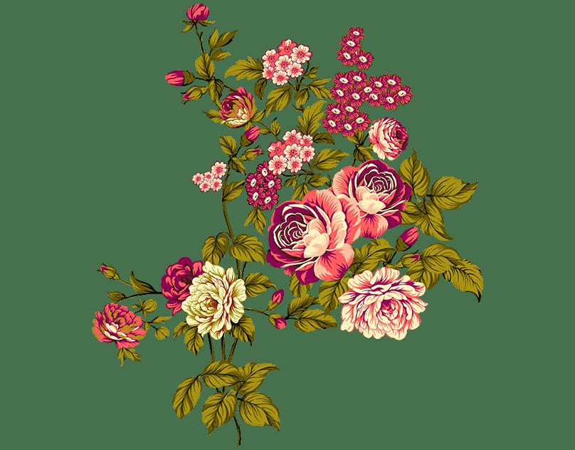 Dm 3372 On Behance Flower Drawing Design Digital Flowers Flower Drawing