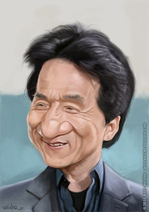 Jackie Chan Caricatures