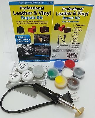 pro leather vinyl repair kit fix sofa car boat seats luggage as seen on tv repairs. Black Bedroom Furniture Sets. Home Design Ideas