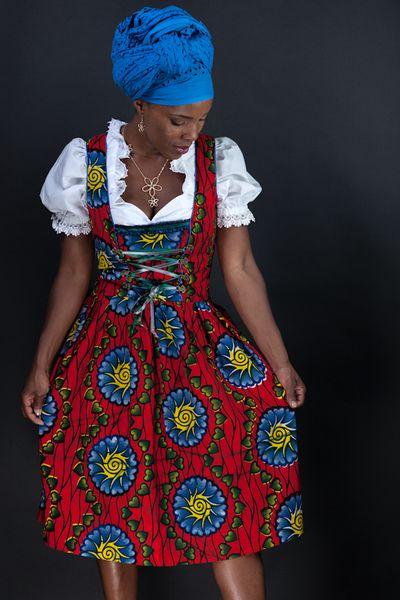 The idea. | Dirndl, Ausgefallene dirndl und Afrikanische ...