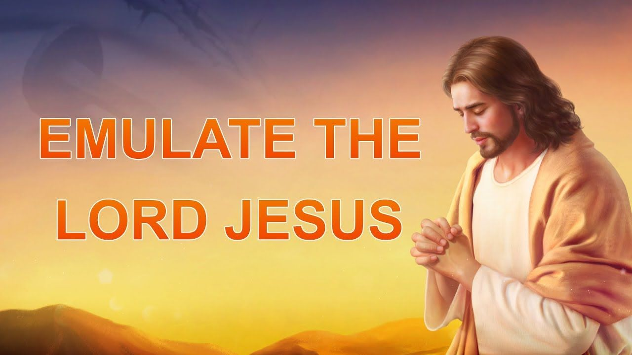 New Jesus Song Emulate The Lord Jesus Praise Songs Jesus Songs Praise