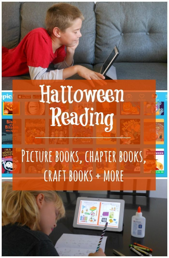 Add a little Halloween fun to your library! Epic! reading