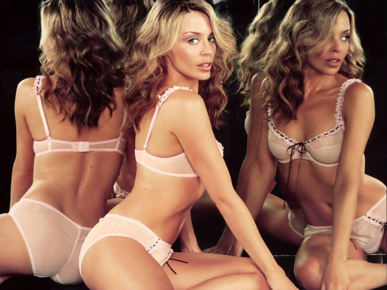 image Kylie minogue lingerie advert