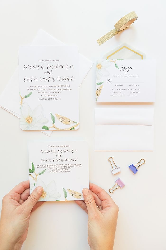 Diy Your Wedding Invitations With Mixbook Weddings And