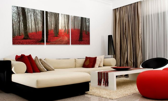 Scenic Outdoor Photography Triptych Canvas Wall Art | Groupon | A ...