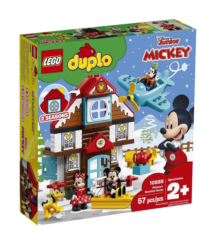 Lego Duplo Disney 10889 Mickey S Vacation House Lego Duplo Minnie Mouse Toys Toy House