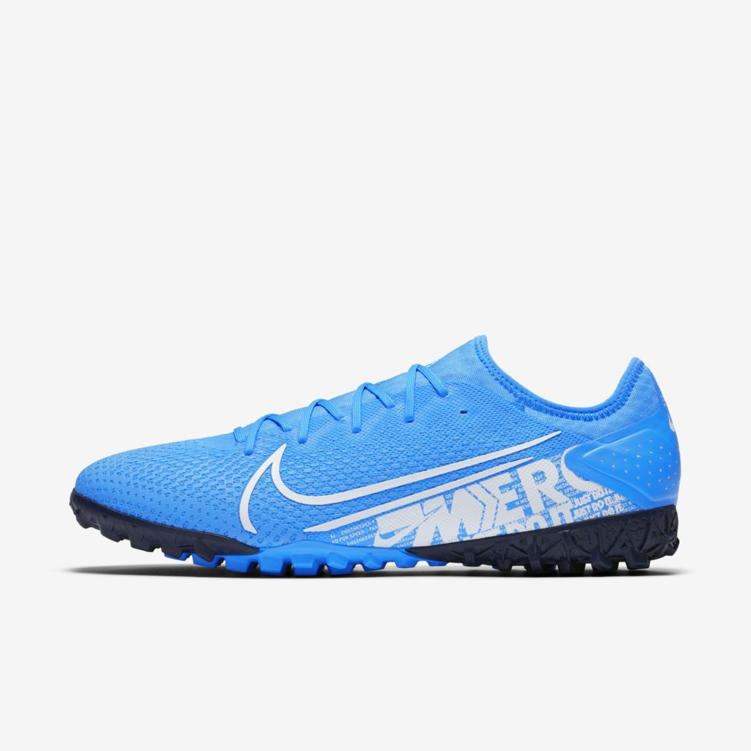 Nike Mercurial Vapor 13 Pro Tf Artificial Turf Soccer Shoe Blue Hero Soccer Shoe Soccer Shoes Football Shoes