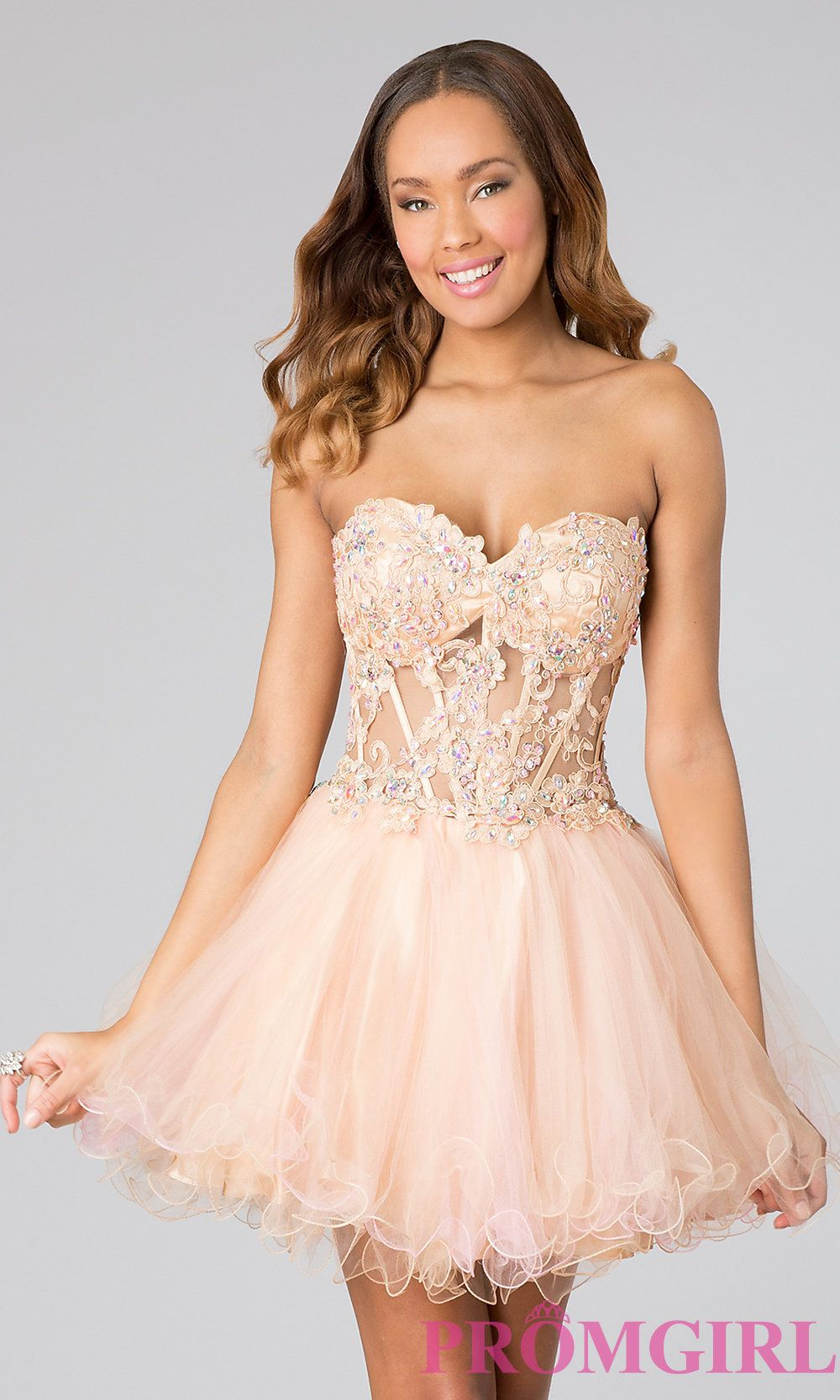 short prom dresses with corset tops