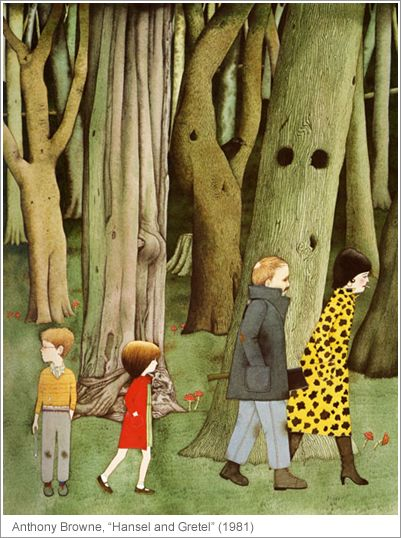 "Anthony Browne, ""Hansel and Gretel"" (1981)"