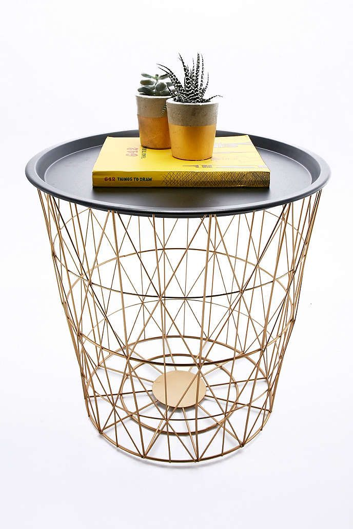 Urbanoutfitters awesome stuff for you your space living shop wire basket side table at urban outfitters today we carry all the latest styles colours and brands for you to choose from right here keyboard keysfo