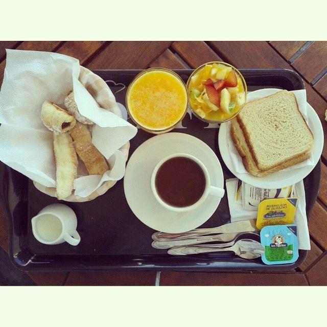 #Vacaciones #Placer #Breakfast