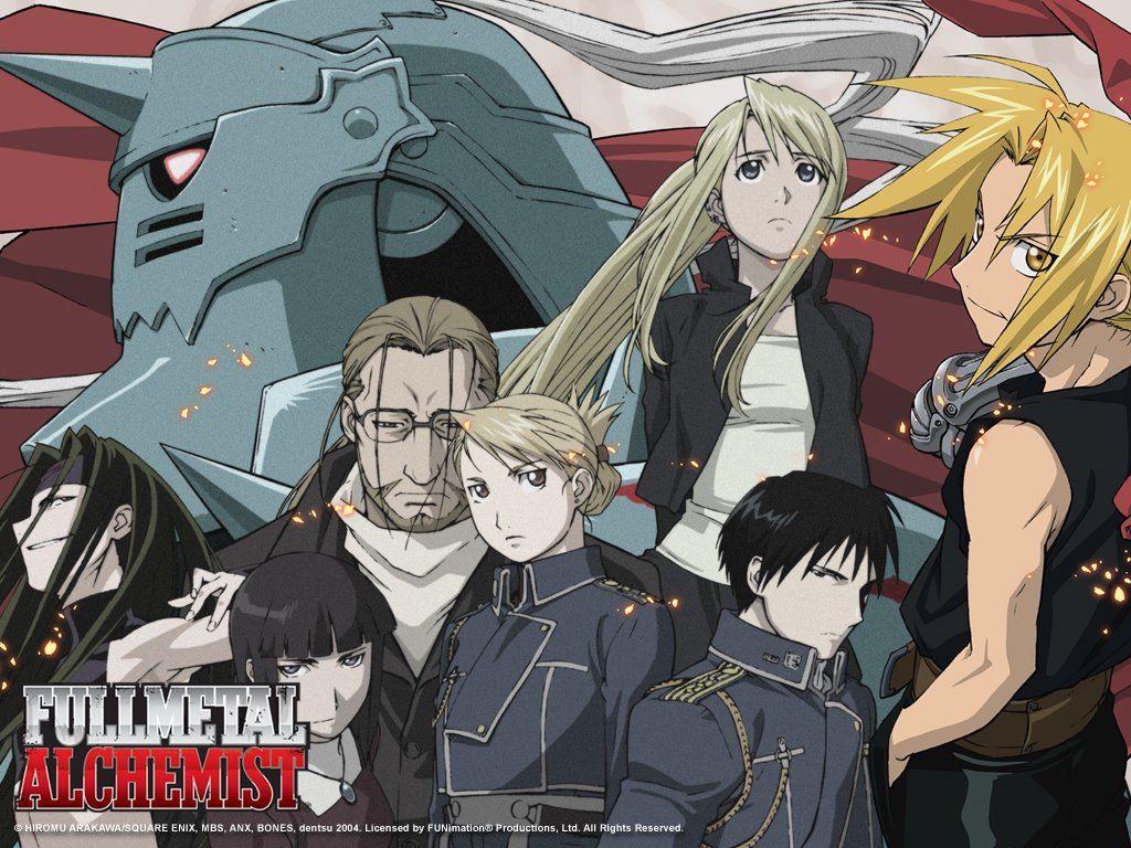 Anime For Fantasy Lovers アルケミスト, 鋼の錬金術師